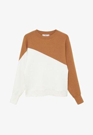 SPACE - Sweatshirt - středně hnědá