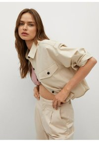 Mango - Button-down blouse - mittelbraun - 3