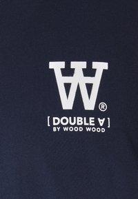 Wood Wood - ACE - Print T-shirt - navy - 2