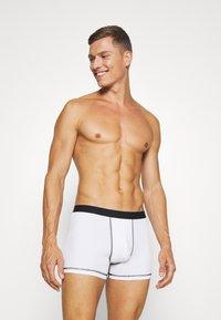 Pier One - 5 Pack - Panties - black/mottled grey - 2