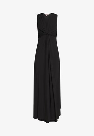 BASIC - FRONT KNOT MAXI DRESS - Długa sukienka - black