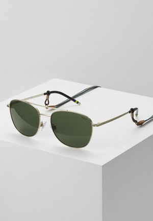 Sunglasses - pale gold-coloured