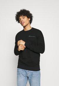Jack & Jones PREMIUM - JPRBLA PARADOX CREW NECK - Sweatshirt - black - 2