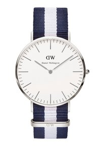 Daniel Wellington - GALSGOW - Watch - dunkelblau/silberfarben - 0
