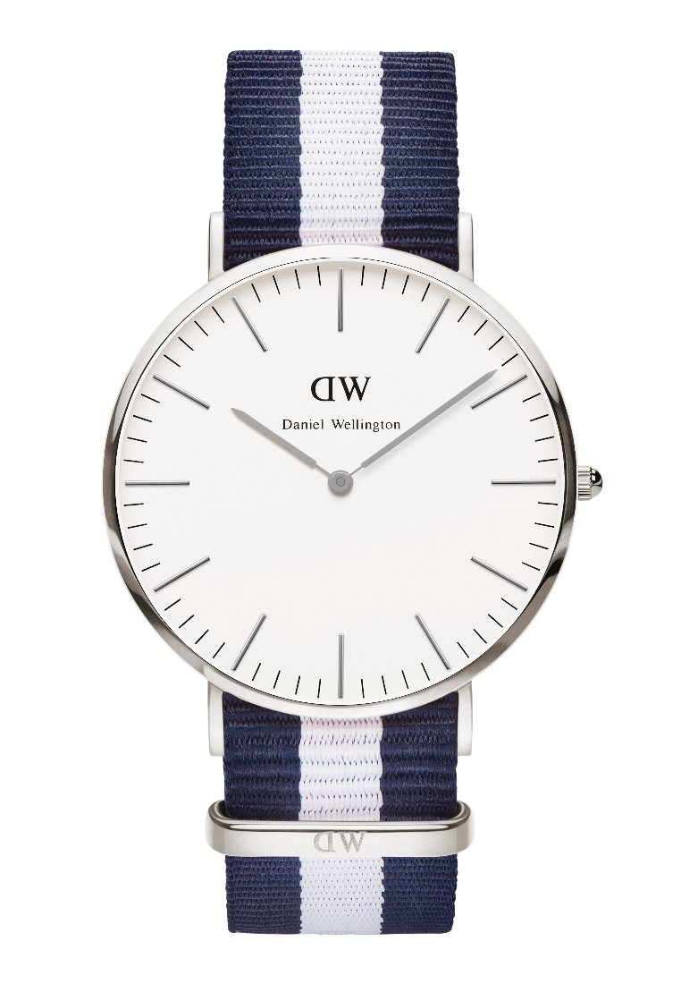 Daniel Wellington - GALSGOW - Watch - dunkelblau/silberfarben