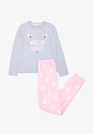 2 SET NAPLES - Pyjamas - grey