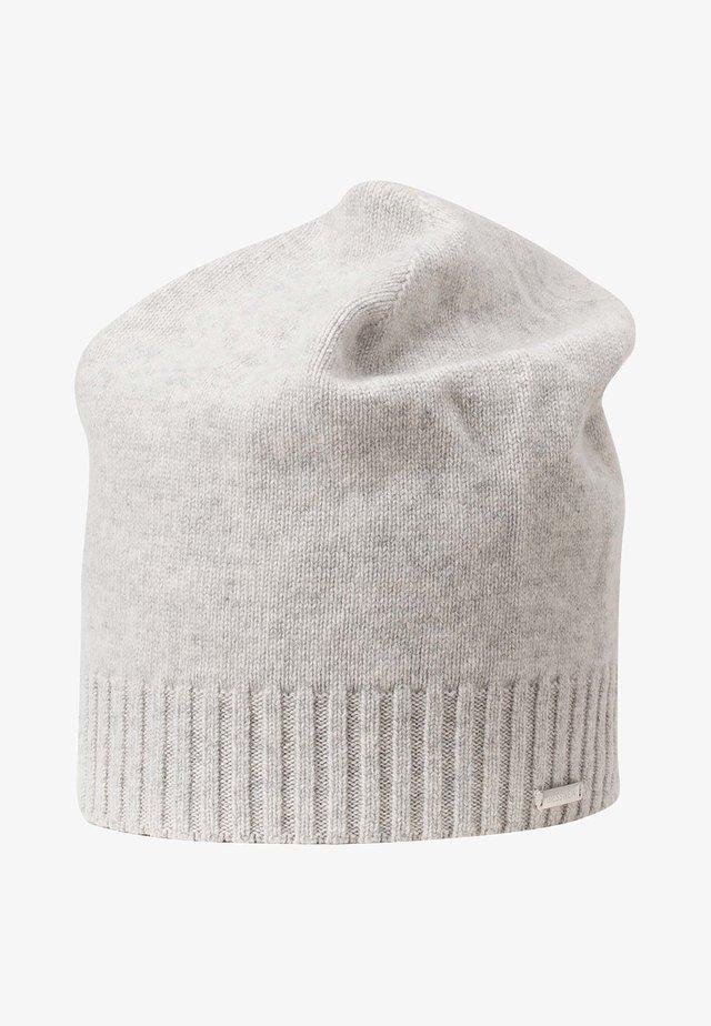 KASCHMIRMÜTZE SCHWARZENSTEIN - Bonnet - marmor