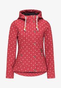 Schmuddelwedda - Outdoor jacket - red - 4
