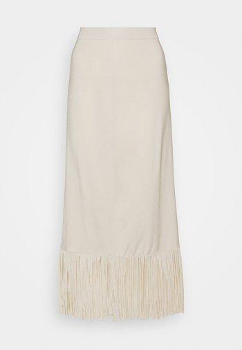 Maxi sukně - ecru