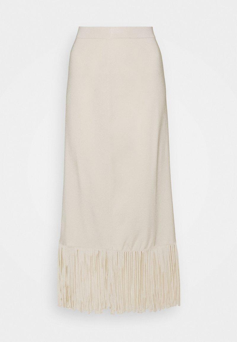 sandro - Maxi skirt - ecru