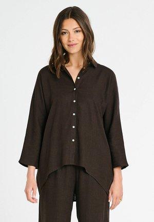 Skjorta - dark brown