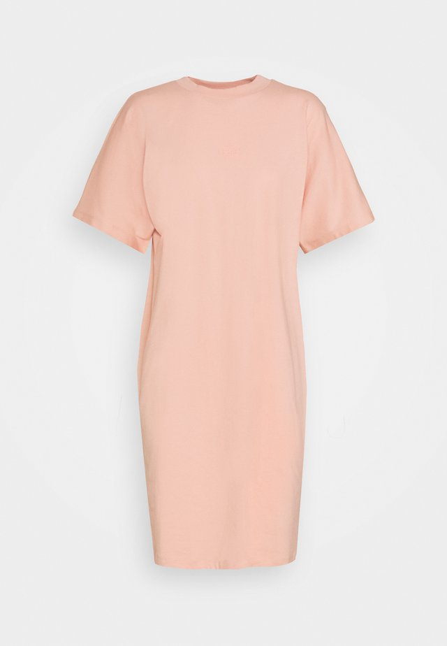 BROOKLYN DRESS - Jerseyjurk - coral cloud