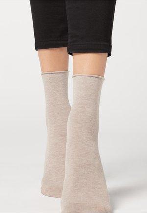 Socks - naturale melange