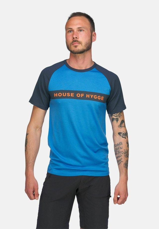 T-shirts med print - blue dark blue