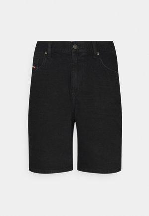 D-STRUKT-SHORT - Džínové kraťasy - washed black