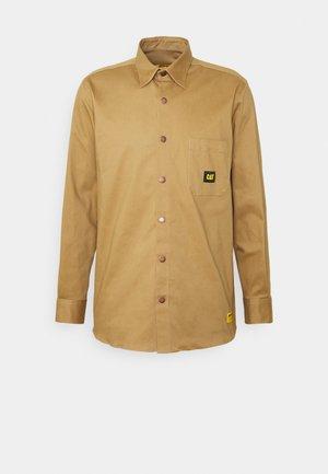 Overhemd - camel