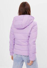 Bershka - Winter jacket - mauve - 2
