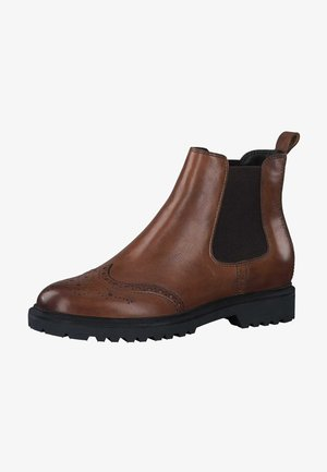 Ankle boots - cognac leather 348
