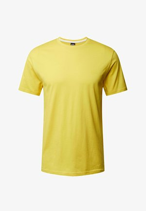 Basic T-shirt - hellgelb