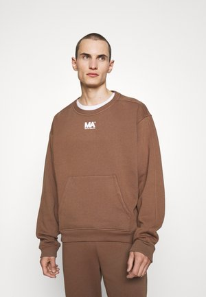 CROPPED CREWNECK - Sweatshirt - toffee