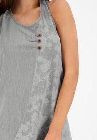 alife & kickin - Denim dress - light grey denim - 4