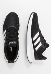 adidas Performance - RUNFALCON UNISEX - Neutral running shoes - core black/footwear white - 0