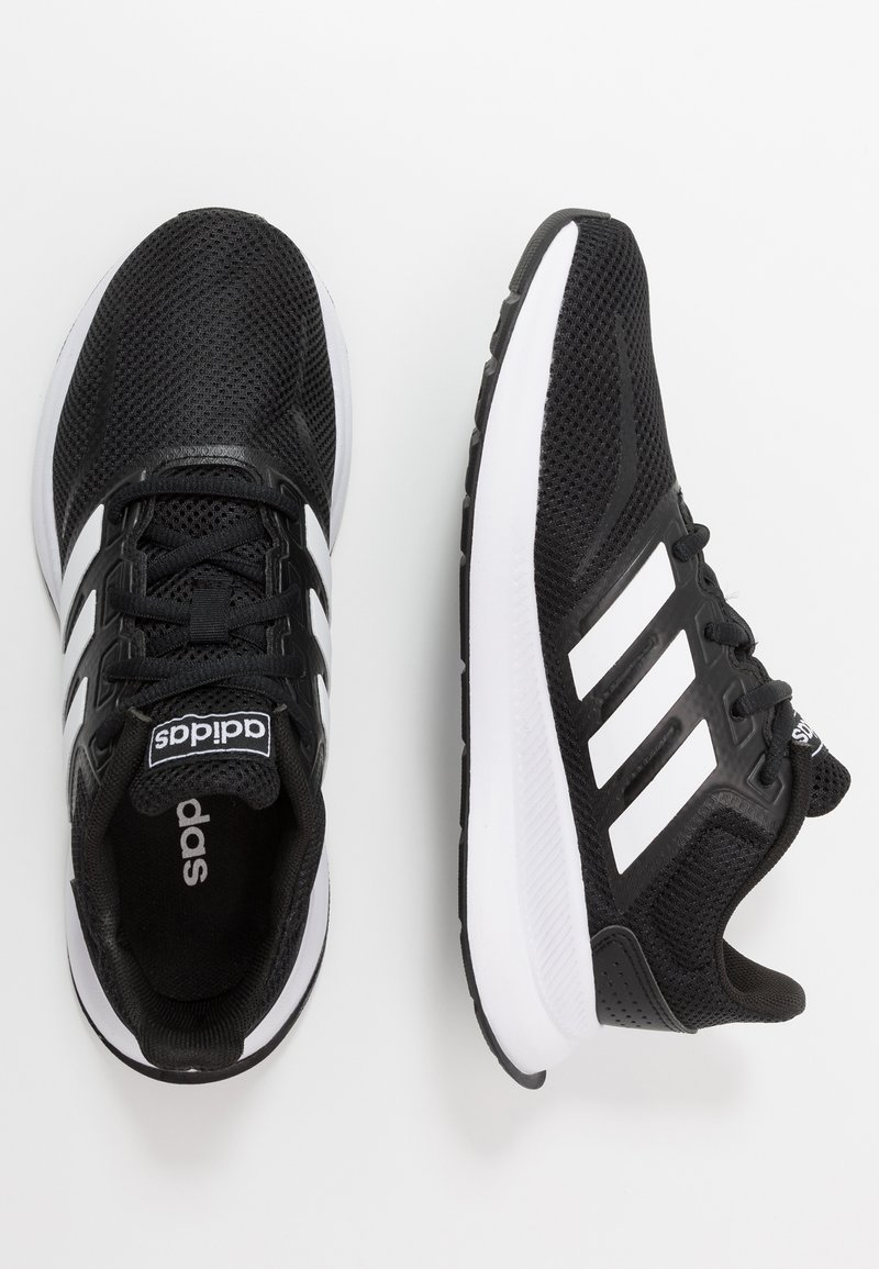 adidas Performance - RUNFALCON UNISEX - Neutral running shoes - core black/footwear white