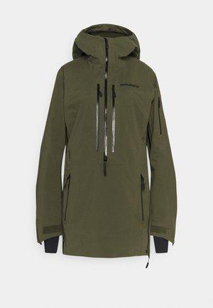 LOFOTEN GORE-TEX PRO ANORAK - Ski jacket - khaki