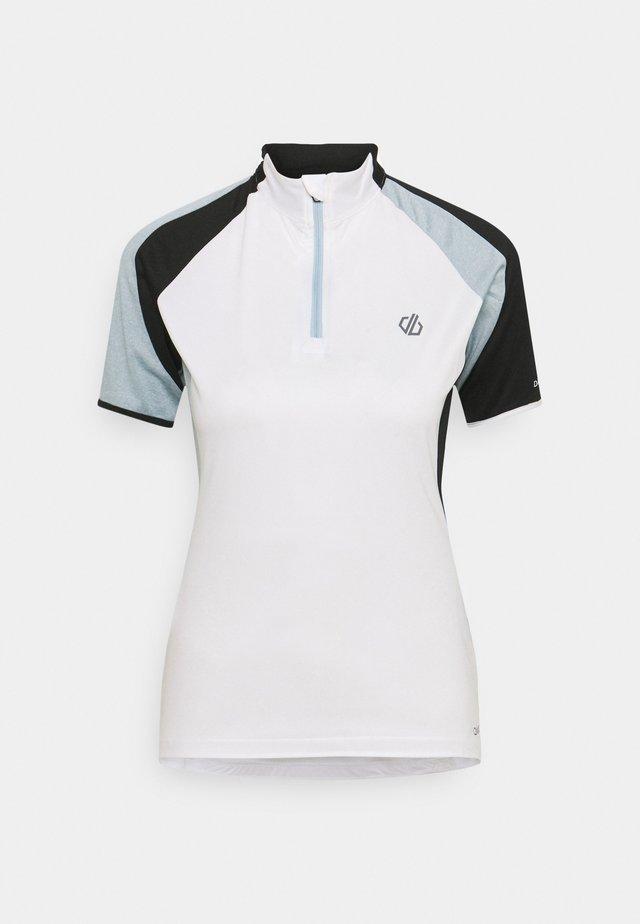COMPASSION - T-shirt imprimé - white/black