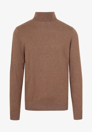 ROLL NECK - Pullover - taupe