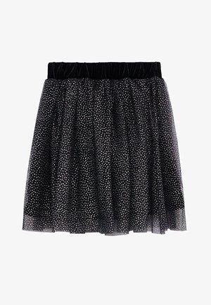 ESES - Áčková sukně - svart