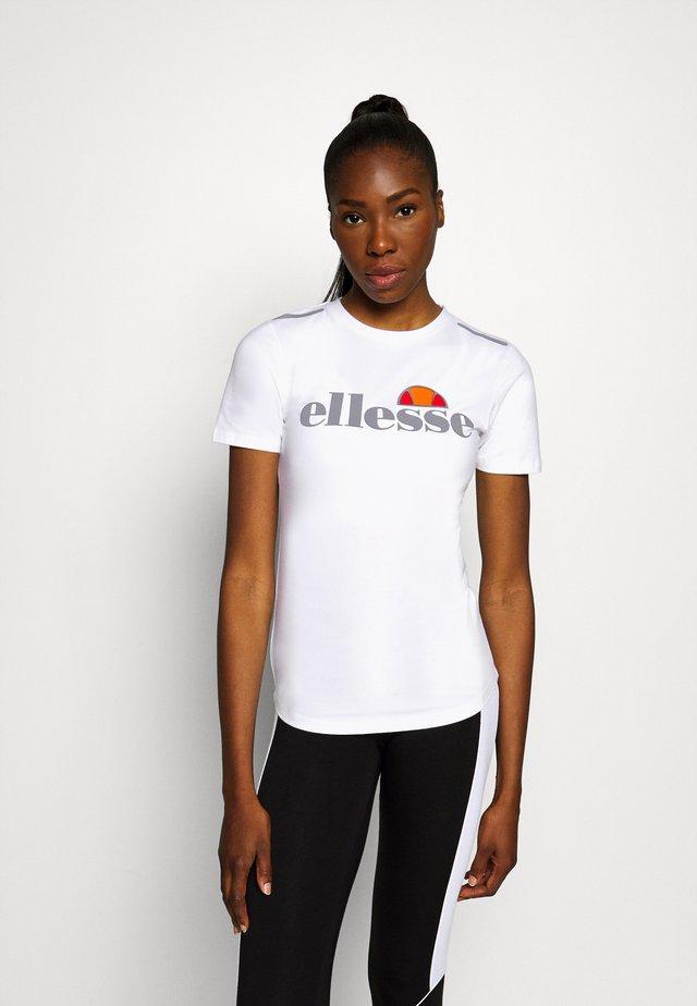 DELLE - T-shirt print - white