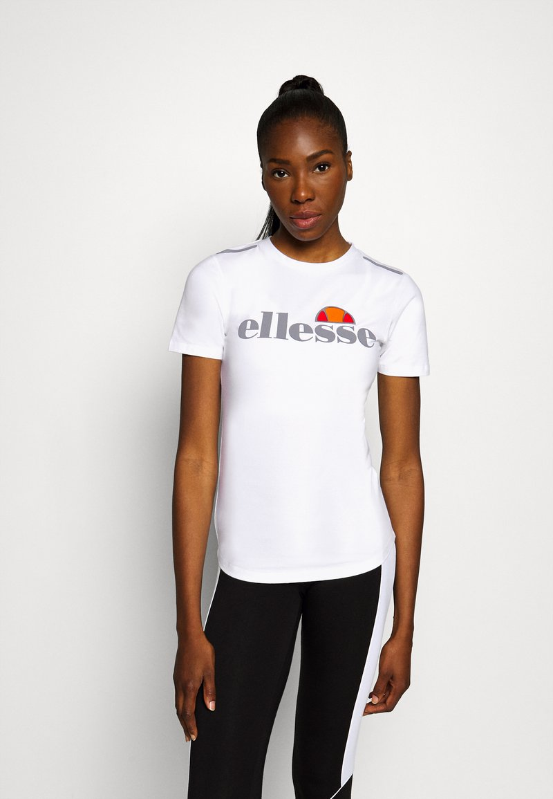 Ellesse - DELLE - Print T-shirt - white
