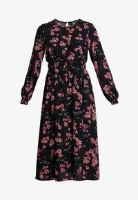 Vero Moda - VMMALLIE SMOCK DRESS - Day dress - black/mallie - 5