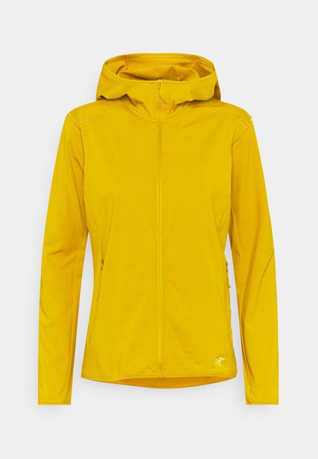 KYANITE HOODY WOMENS - Fleece jacket - pipe dream