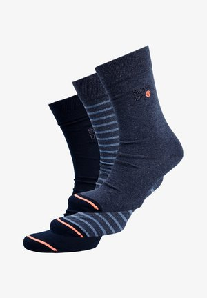 3 PACK - Chaussettes - indigo multipack