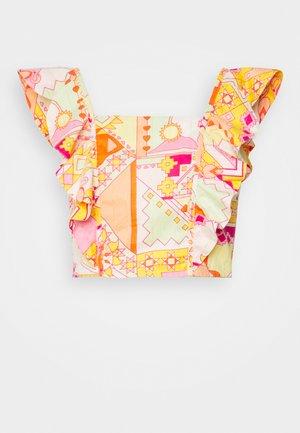 LOLA CROP - Bluser - multicolor
