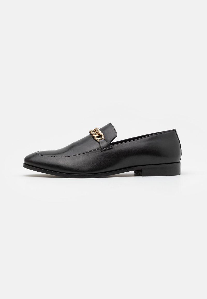Zign - LEATHER - Elegantní nazouvací boty - black