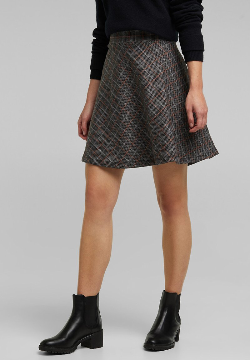 edc by Esprit - A-line skirt - anthracite