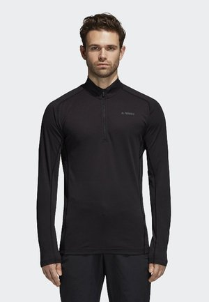 TRACE ROCKER 1/2 LONG SLEEVE - Fleece jumper - black