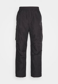 Wood Wood - HALSEY TROUSERS - Reisitaskuhousut - dark grey - 0