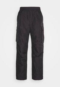 HALSEY TROUSERS - Cargo trousers - dark grey