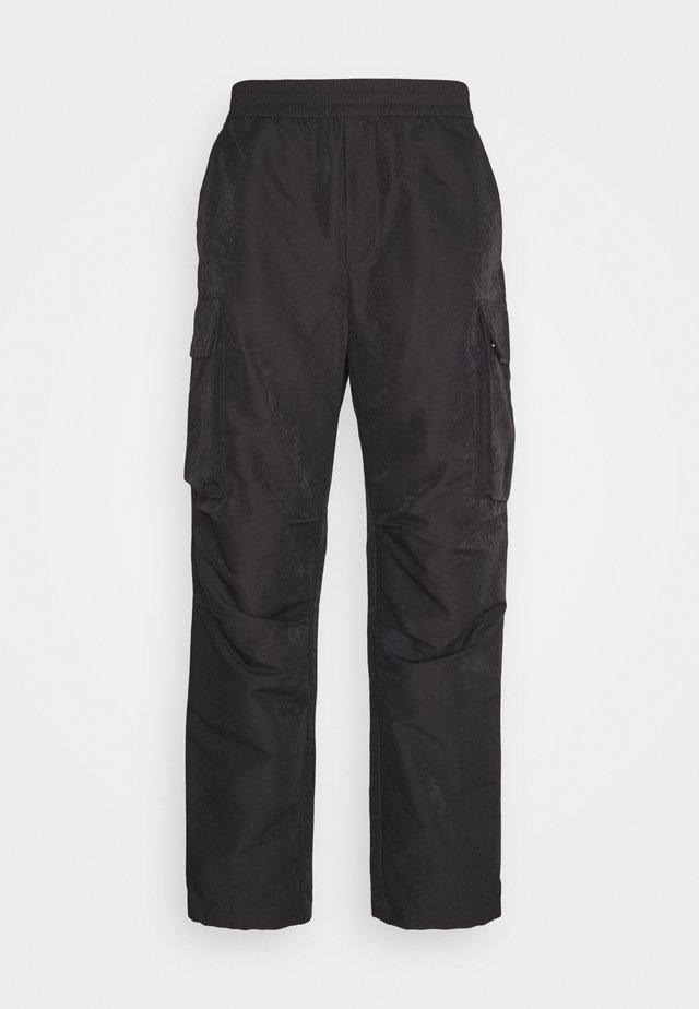 HALSEY TROUSERS - Pantaloni cargo - dark grey
