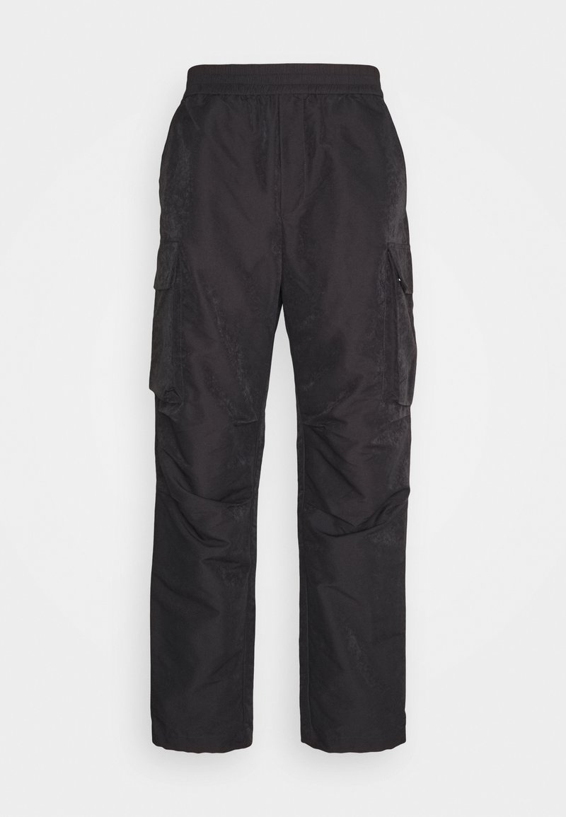 Wood Wood - HALSEY TROUSERS - Reisitaskuhousut - dark grey
