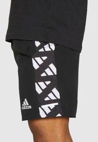 adidas Performance - CELEB SHORT - Urheilushortsit - black/white - 3