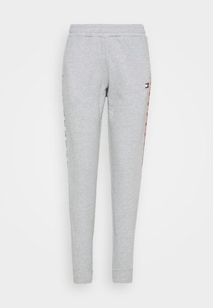 CUFFED PANT PIPING - Pantalon de survêtement - grey heather
