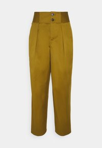 PHYLLIS - Trousers - golden brown