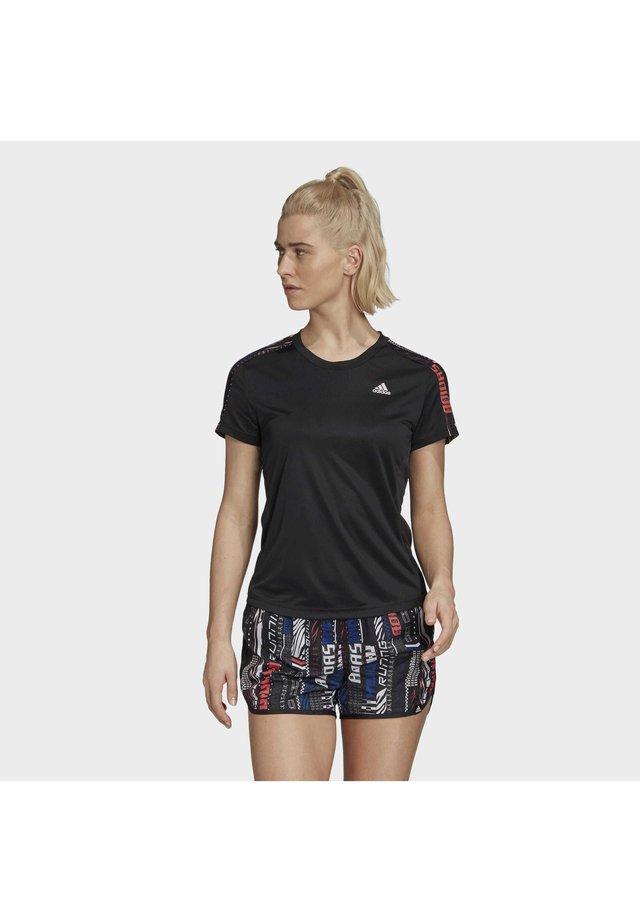 OWN THE RUN  - T-shirt imprimé - black
