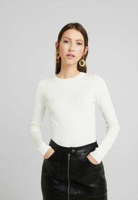 New Look - CREW - Jersey de punto - off white - 0