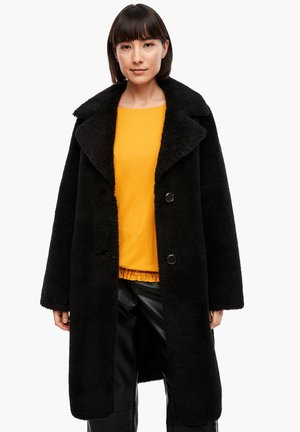 LANGARM - Classic coat - black